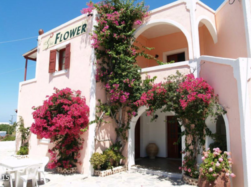 03dfdf5f998a The Flower Pension - Santorini